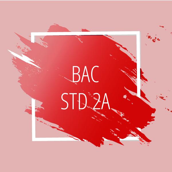 Bac STD 2A